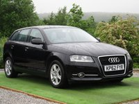 USED 2012 62 AUDI A3 1.2 TFSI SE Sportback S Tronic 5dr FSH AUTOMATIC CD AIR CON
