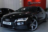 2014 AUDI A7 SPORTBACK 3.0 TDI QUATTRO S LINE BLACK EDITION 5d AUTO 204 S/S £25983.00