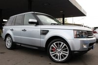 USED 2009 LAND ROVER RANGE ROVER SPORT 3.0 TDV6 HSE 5d AUTO 245 BHP
