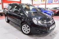 USED 2013 13 VAUXHALL ZAFIRA 1.7 DESIGN NAV CDTI ECOFLEX 5d 108 BHP A STUNNING FAMILY CAR WITH LOW MILEAGE