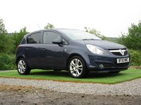 USED 2010 10 VAUXHALL CORSA 1.2 i 16v SXi 5dr FSH CD PLAYER AIR CON