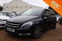 USED 2015 15 MERCEDES-BENZ B CLASS 1.5 B180 CDI BLUEEFFICIENCY SPORT 5d AUTO 107 BHP