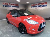 USED 2011 61 CITROEN DS3 1.6 E-HDI AIRDREAM DSPORT PLUS 3d 111 BHP Full Service History , Full Leather