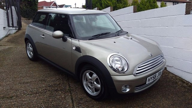 2008 58 MINI HATCH ONE 1.4 ONE 3d 94 BHP