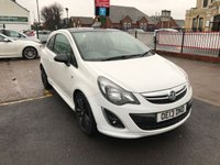USED 2013 13 VAUXHALL CORSA 1.2 LIMITED EDITION 3d 83 BHP 44,000 Miles, Service History, 1Former Keeper.