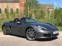 USED 2014 PORSCHE BOXSTER 2.7 24V PDK  ONE LADY OWNER FROM NEW!