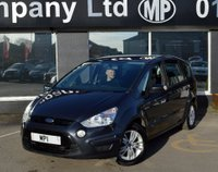 USED 2010 60 FORD S-MAX 2.0 ZETEC TDCI 5d 138 BHP 7 SEATER MPV, 1 FORMER, 63-000m MOST SH