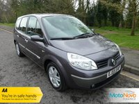 USED 2006 55 RENAULT GRAND SCENIC 2.0 DYNAMIQUE VVT 5d AUTO 133 BHP VERY NICE AUTOMATIC GRAND SCENIC WITH SEVEN SEATS, AIR CONDITIONING AND ALLOY WHEELS.