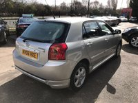 USED 2006 06 TOYOTA COROLLA 1.6 T3 COLOUR COLLECTION VVT-I 5d 109 BHP