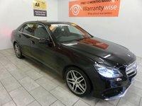 2014 MERCEDES-BENZ E CLASS 2.1 E250 CDI AMG SPORT 4d AUTO 202 BHP £21000.00