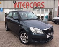 USED 2014 14 SKODA FABIA 1.2 SE 12V 5d 68 BHP 1 LOCAL OWNERS FROM NEW WITH A FULL SERVICE HISTORY, ALLOY WHEELS, AIR CONDITIONING.