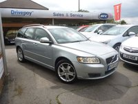 USED 2009 59 VOLVO V50 2.0 D SE 5d 136 BHP WE STRIVE FOR 94% FINANCE APPROVALS