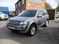USED 2014 14 LAND ROVER FREELANDER 2.2 SD4 XS 5d AUTO 190 BHP FULL LAND ROVER HISTORY