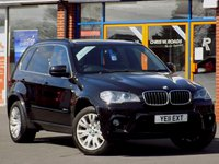 USED 2011 11 BMW X5 3.0 XDRIVE30D M SPORT 5d 241 BHP *ONLY 9.9% APR with FREE Servicing*