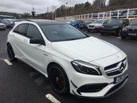 USED 2017 17 MERCEDES-BENZ A45 A45 AMG 2.0 Turbo 381hp 4Matic 5dr Almost £50,000 list, latest model with delivery miles & saving