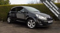 USED 2014 14 VAUXHALL CORSA 1.4 SXI 3d 98 BHP, BLACK, MANUAL, PETROL 6 Month PREMIUM Cover Warrantry - 12 Month MOT (With No Advisories) - Low Rate Finance Packages Available