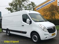 USED 2011 61 VAUXHALL MOVANO R3500 CDTI 150 L3 LWB H2 Panel van RWD Delivery can be arranged