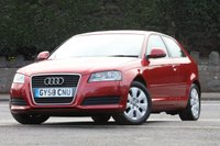 USED 2008 58 AUDI A3 1.9 TDI E 3d 103 BHP Great Value!