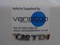 USED 2013 13 VOLKSWAGEN TRANSPORTER 2.0 T30 TDI 1d 102 BHP