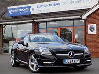 USED 2014 64 MERCEDES-BENZ SLK 2.1 SLK250 CDI BLUEEFFICIENCY AMG SPORT 2dr AUTO 204 BHP *ONLY 9.9% APR with FREE Servicing*