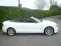 USED 2015 65 AUDI A5 2.0 TDI S LINE CABRIOLET SPECIAL EDITION PLUS 190 BHP