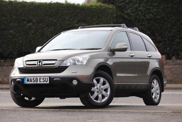 2008 58 HONDA CR-V 2.0 I-VTEC ES 5d AUTO 148 BHP
