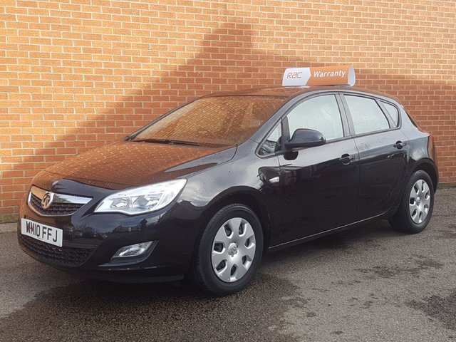 2010 10 VAUXHALL ASTRA 1.7 EXCLUSIV CDTI 5d £30 ROAD TAX