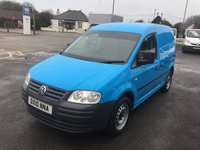 2010 VOLKSWAGEN CADDY C20 PLUS 2.0 SDI 69 SWB £5595.00