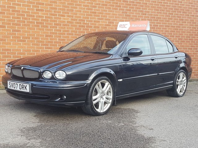 2007 07 JAGUAR X-TYPE 2.1 SPORT TD 4d 152 BHP Heated Sports Seats