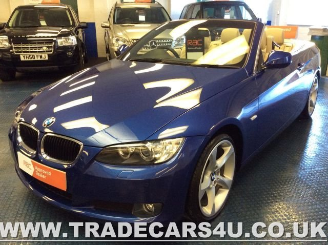 2010 59 BMW 3 SERIES RARE BMW 3 SERIES 320d SE HIGHLINE CABRIOLET/CONVERTIBLE