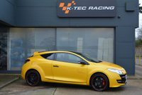 USED 2011 61 RENAULT MEGANE 2.0 RENAULTSPORT TROPHY 3d 265 BHP LIMTED EDITION 265 TROPHY MODEL, LIQUID YELLOW, RECARO SEATS, CUP CHASSIS, RENAULTSPORT MONITOR