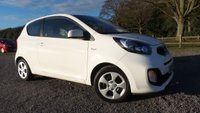 USED 2011 61 KIA PICANTO 1.0 1 3d 68 BHP F/S/H, AA-MECHANICAL REPORT, ONE FORMER KEEPER, AIR-CON, ZERO TAX BAND, SUPER MPG