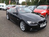 USED 2007 07 BMW 3 SERIES 2.0 320I M SPORT 2d 168 BHP STYLISH FUN CONVERTIBLE! FSH, HIGH SPEC. LOW MILES!