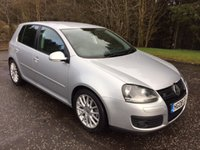 2008 VOLKSWAGEN GOLF 2.0 GT TDI 5dr LEATHER 138 BHP £5299.00