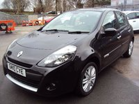 USED 2010 10 RENAULT CLIO 1.6 INITIALE TOMTOM VVT 5d AUTO 110BHP SATNAV+LEATHER+BLUETOOTH+CDC+