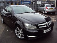 2012 MERCEDES-BENZ C CLASS 2.1 C220 CDI BLUEEFFICIENCY AMG SPORT 2d AUTO 170BHP £12390.00
