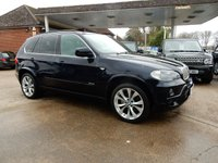 USED 2008 58 BMW X5 3.0 SD M SPORT 5d AUTO 282 BHP SAT NAV,LEATHER,PAN ROOF,TWO KEYS,XENON'S