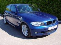 USED 2007 57 BMW 1 SERIES 1.6 116I M SPORT 5d 121 BHP