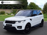 USED 2013 63 LAND ROVER RANGE ROVER SPORT 3.0 SDV6 HSE DYNAMIC 5d AUTO 288 BHP 1 OWNER 22 INCH WHEELS
