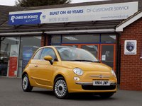 USED 2014 14 FIAT 500 1.2 LOUNGE 3dr 69 BHP *ONLY 9.9% APR with FREE Servicing*