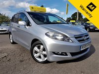 USED 2008 08 HONDA FR-V 2.2 I-CTDI EX 5d 140 BHP!p/x welcome!2 OWNERS! FULL LEATHER + HEATED SEATS! 6 SEATS! CRUISE & CLIMATE CONTROL! 2 OWNERS! 6 SEATS! PARKING AID! NEW MOT! PRIVACY GLASS! NEW SERVICE! EX-CONDITION!