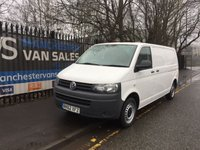2012 VOLKSWAGEN TRANSPORTER VW T5 2.0 T30 TDI 102 BHP TAILGATE AIR CON LWB GREAT VAN FOR A CAMPER £9995.00