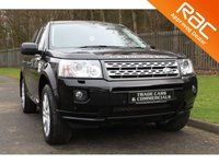 USED 2012 12 LAND ROVER FREELANDER 2 2.2 SD4 HSE 5d AUTO 190 BHP A STUNNING BIG SPECIFICATION CAR WHICH HAS HAD ONE PREVIOUS OWNER AND HAS A FULL HISTORY