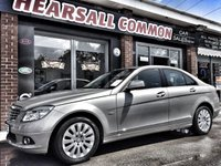 USED 2008 58 MERCEDES-BENZ C CLASS 2.1 C220 CDI ELEGANCE 4d AUTO 168 BHP FINANCE ME FROM £30.38 P/W!!!