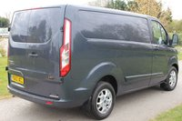 USED 2014 63 FORD TRANSIT CUSTOM 2.2 290 LIMITED LR P/V 1d 124 BHP Beautiful Colour, Low milage - LIMITED.