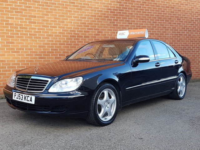 2003 53 MERCEDES-BENZ S CLASS 3.2 S320 CDI 4d AUTO Huge Spec - Immaculate