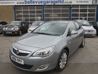 USED 2011 61 VAUXHALL ASTRA 2.0 SE CDTI S/S 5d 163 BHP ONLY £30 TAX AND 62MPG