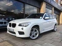 2014 BMW X1 2.0 XDRIVE18D M SPORT 5d 141 BHP £17995.00