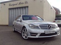 2012 MERCEDES-BENZ C CLASS 2.1 C200 CDI BLUEEFFICIENCY SPORT 4d AUTO 135 BHP £10995.00