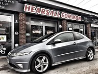 USED 2008 58 HONDA CIVIC 2.2 I-CTDI TYPE-S GT 3d 139 BHP FINANCE ME FROM £16.75 A WEEK!